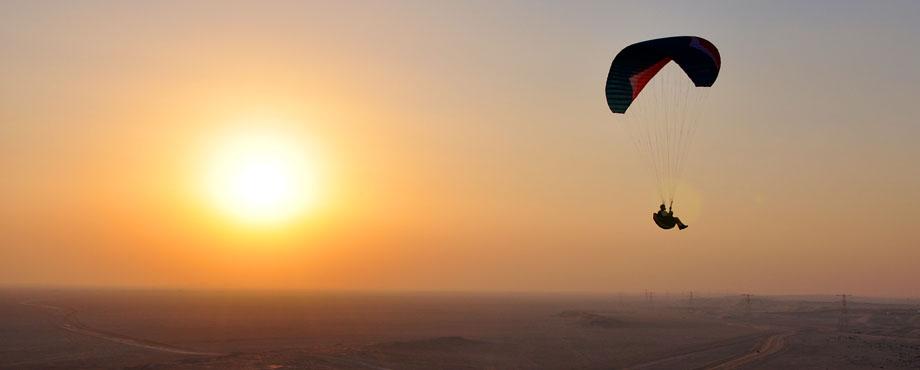Paraglider Header